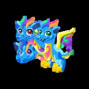Triple Rainbow Juvenile