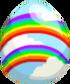Double Rainbow Egg