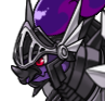 Black armor adult icon