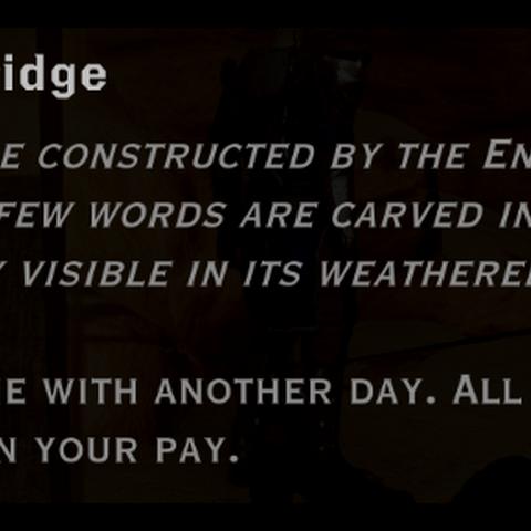 Wooden Bridge landmark detail
