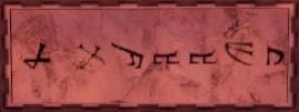 Dwarven runes