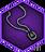 Unique amulet icon