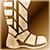 Medium boots gold DA2