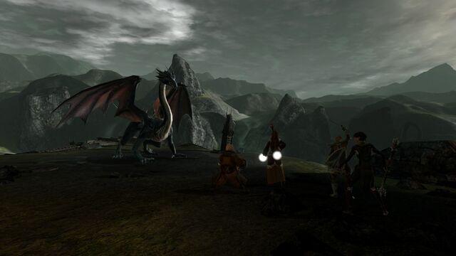 File:DA2 Bone Pit - quest act 1 - encountering mature dragon.jpg