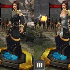 Tier progression of Circle Mage Bethany in <i><a href=