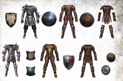 DAO Armour Set Artwork