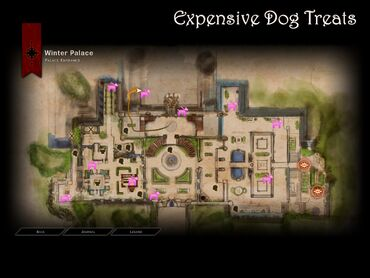 Dragon Age Inquisition Expensive Dog Treats