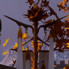 Dalish banner with crown