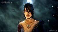 Morrigan Dragon Age Inquisition trailer screenshot