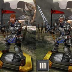 Grey Warden Warrior from <i>Heroes of Dragon Age</i>