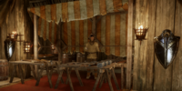 Merchant (Redcliffe Village) (Armor and Upgrades)