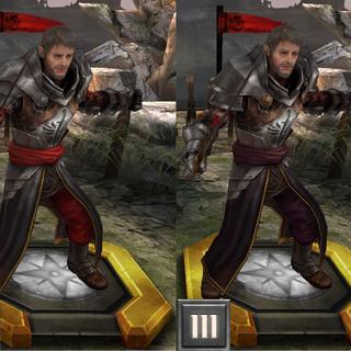 Gregor w Heroes of dragon Age
