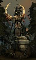 Maferath statue