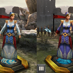 A Circle Senior Enchanter in <i>Heroes of Dragon Age</i>