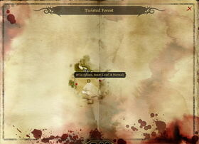 Map-Twisted Forest