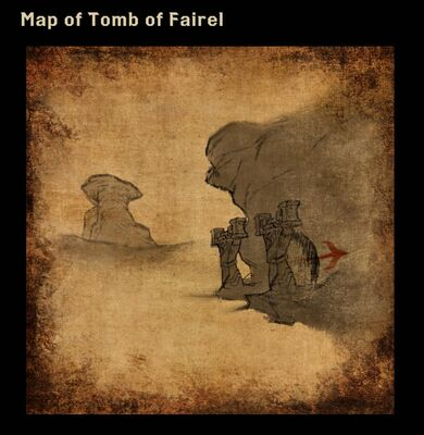 Map of Tomb of Fairel