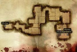 Map deserted building