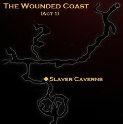 DA2 Map - The Wounded Coast - Slaver Caverns (Act 1 - Wayward Son)