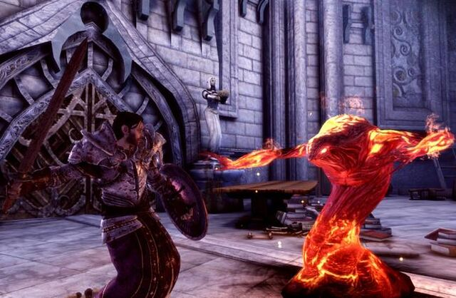 File:A templar fights with a demon.jpg