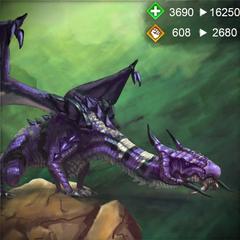 Morrigan's dragon form in <i><a href=