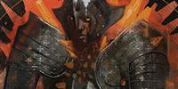 Codex entry: Red Templar Knight