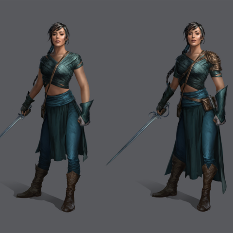 Tessa in Heroes of Dragon Age
