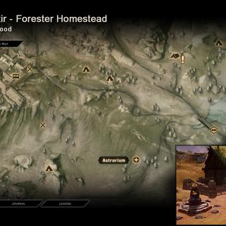 Silentir - Map Location