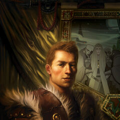 Alistair on the first issue's cover