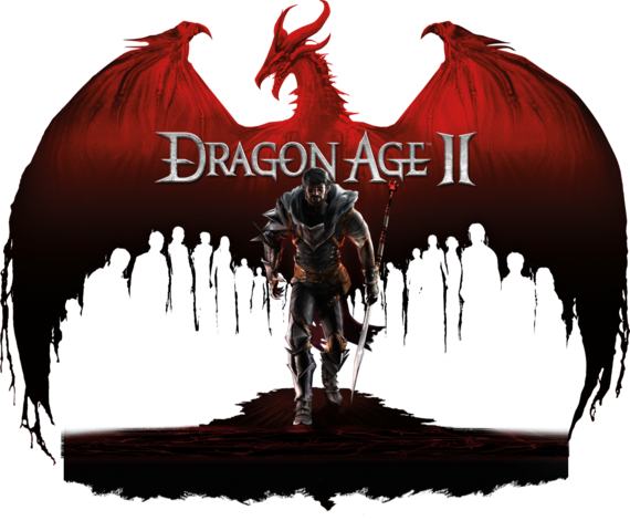 File:Dragon Age II Logo.png