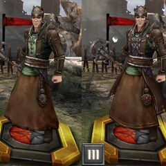 Tier progression of a Cultist Mage in <i>Heroes of Dragon Age</i>