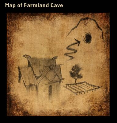 Map of Farmland Cave
