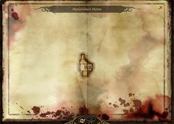 Marjolaine's Home - map