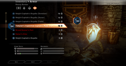 Dragon Age Multiplayer Armor