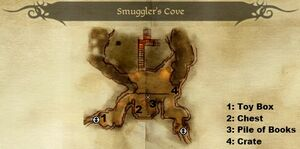 DAO Smuggler's Cove - map