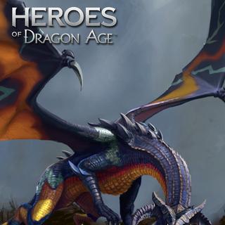 Artwork of Gamordan Stormrider from Heroes of Dragon Age