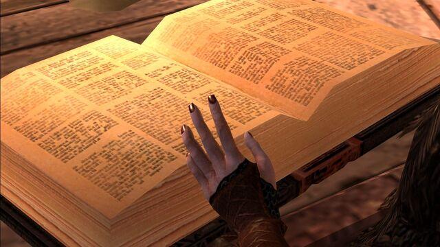 File:DA2 Welcome Home - Merrill act 1 companion quest 2 book.jpg