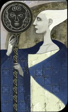 Empress Celene Valmont tarot