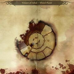 Map of Tower of Ishal - Third Floor
