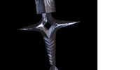 Three-Edged Dagger Grip