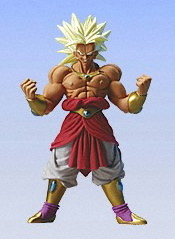 Bandai Movies SP 11 CM 4 INCH MAY 2009 Broly