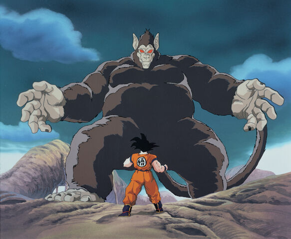 File:Goku VS Gohan (great ape).jpg