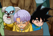 Trunks goten bound in rope3