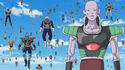 Tagoma stands next to Frieza 1000 soldiers army in Dragon Ball Super Episode 21