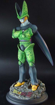 Cell 2010 statue a