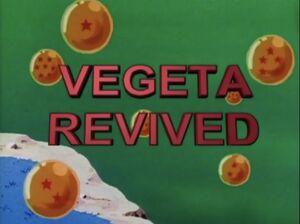 Vegeta Revived!