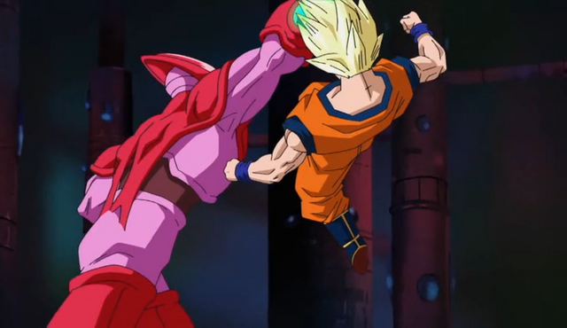 File:PTETS - Hatchiyack vs Goku.png