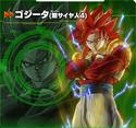 Gogeta (Super Saiyan 4) XV2 Character Scan