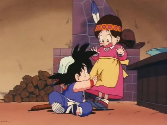 File:Goku touching Pochawompa crouch.jpg