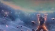 Goku spirit bomb 4d