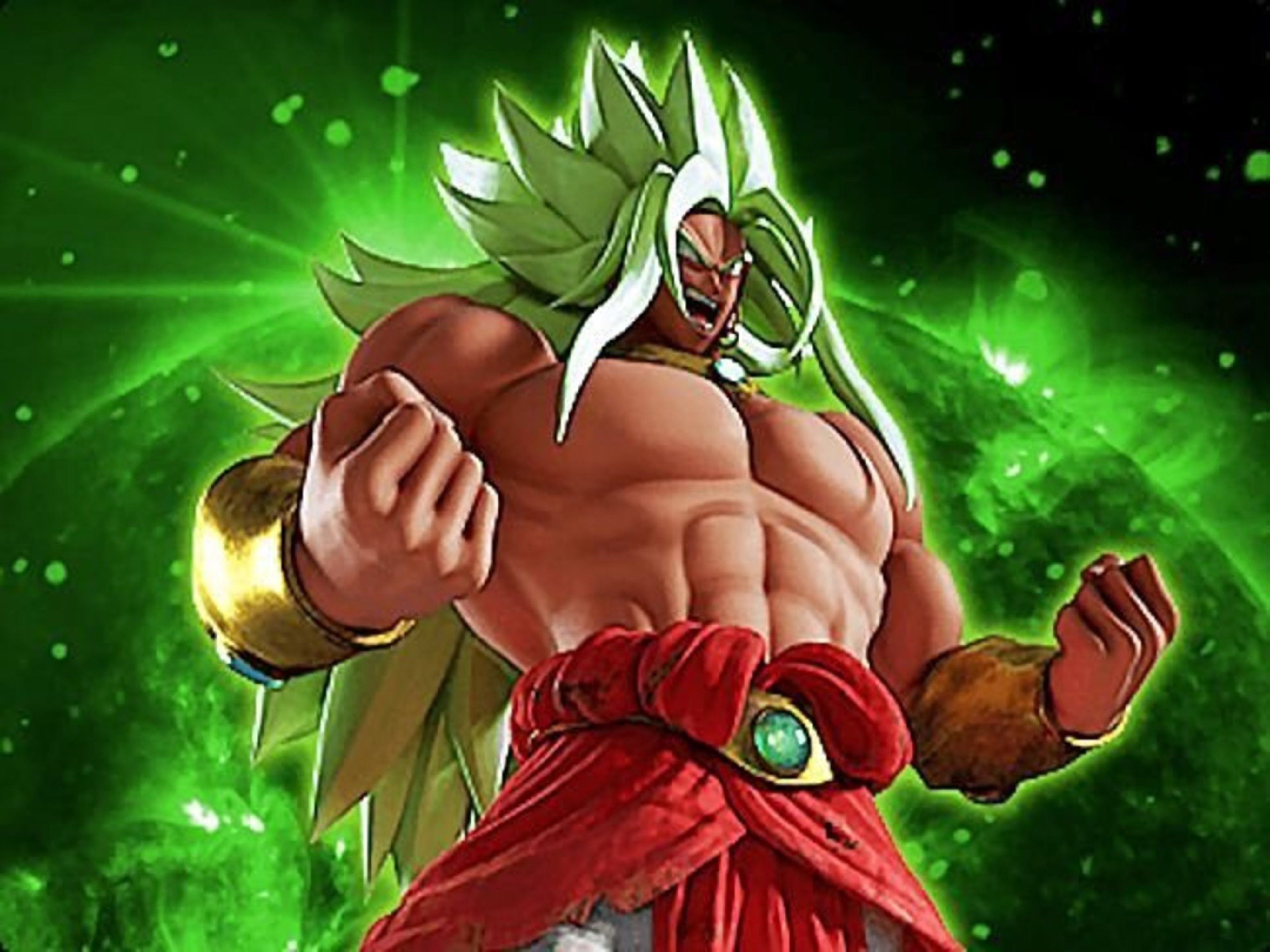 Broly Can Turn Legendary Super Saiyan God Now In The New 4D Movie